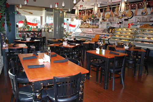 A Touch of Italy will take over the space in the Holiday Inn on 66th Street that had been home to Reflections Restaurant for the last 33 years. Above the deli area of one of the Delaware Touch of Italy restaurants is pictured. File Photos