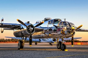 "The ""Panchito,"" a B25 Mitchell Bomber, will offer flights out of the Ocean City Airport June 12-15. Submitted Photo"