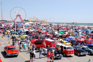 One of the car show locations for the 24th Annual Cruisin Ocean City event will be the Inlet parking lot, above. File Photo