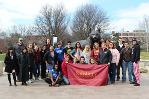 SU Students Attended 2014 National Conference On Undergraduate Research