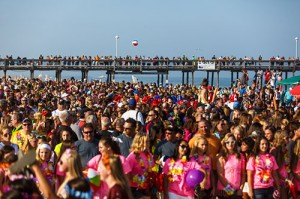 The Inlet beach is pictured during last year's USSSA World Series opening ceremony. Photo by Chris Parypa