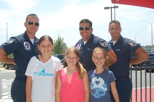 OC Elementary Students Meet U.S. Air Force Thunderbird Pilots