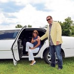 New Lovin' Life Limos co-owner Kevin Sasada is pictured with former owner Tammy Patrick-Cebula.