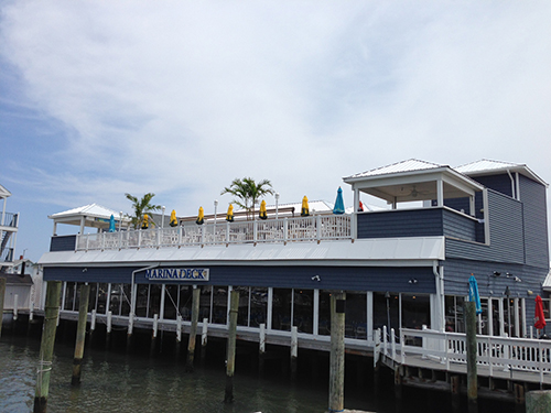 New dining options and the Wild Pony Bar are now available on the Marina Deck's rooftop in downtown Ocean City. Staff Photos