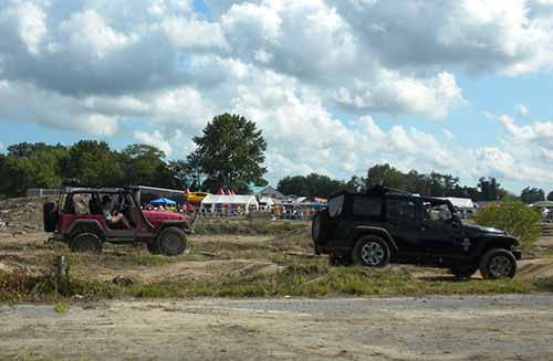 One of the highlights of the 5th Annual Ocean City Jeep Week is the Jeep Jam in Berlin that offers trail rides, obstacle courses and family activities. File Photo