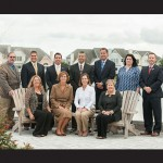 The new Coastal Association of REALTORS® Board of Directors include, back from left, Terrance McGowan, Joe Wilson, Joel Maher, Darron Whitehead, Don Bailey, Courtney Wright and Wesley Cox; and, seated from left, Vicki Harmon, Lauren Bunting, Brigit Taylor and Linda Moran. Submitted Photo