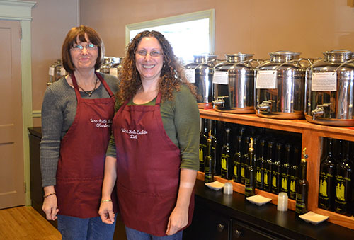 Una Bella Salute co-owners Charlene McQuillen and Deborah Nicole are pictured inside their new Berlin business. Photo by Charlene Sharpe
