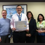 Atlantic General Hospital recently received The Joint Commission's Top Performer Award for pneumonia and surgical care. Pictured, from left, are Chuck Gizara, director of clinical operations; Bob Yocubik, director of quality; Ann Bergey, vice president of professional staff services and quality; and Jeanette Troyer, performance improvement coordinator. Submitted Photos