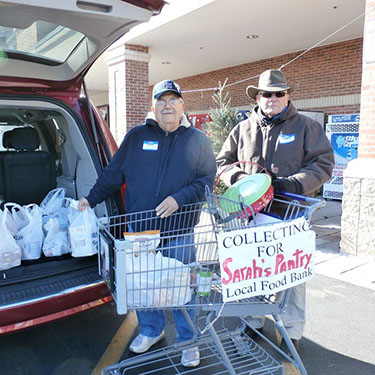 11272014 Community Church At Ocean Pines Sponsors Food Drive At