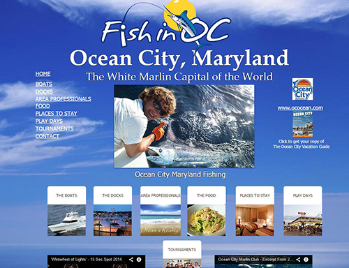One of the major features of the new marketing effort will be a website focused solely on fishing in Ocean City and will also include other activities and amenities. File Image