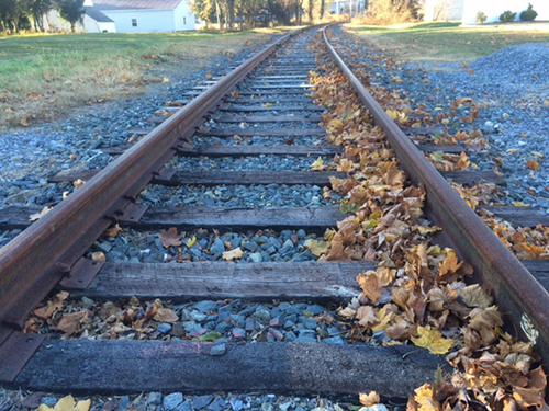 A feasibility study on a possible excursion train operation in Worcester County was released this week, highlighting its potential if infrastructure improvements are made to the track, pictured above in Berlin. File Photo
