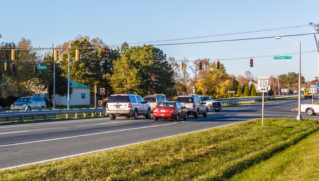 The intersection of Route 113 and Bay Street is pictured days after last year's fatal accident. Photo by Chris Parypa