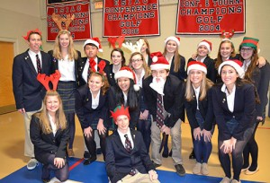 Worcester Prep Grades 6-12 Hold Christmas Choral Concert