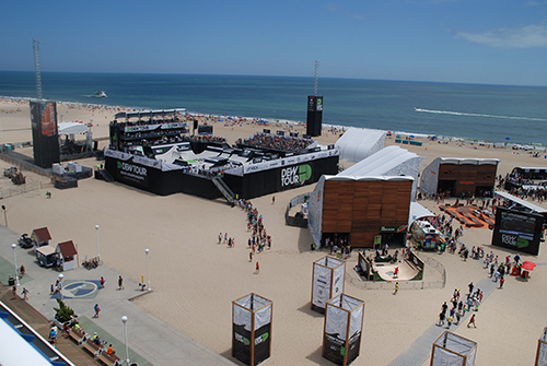 During the last summers, one of the stops of the Dew Tour, an action sports festival, was in Ocean City. Photo by Shawn Soper