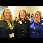 CAR Board President Vicki Harmon, Delegate Mary Beth Carozza and CAR President-Elect Linda Moran are pictured at the recent 2015 MAR Legislative Breakfast in Annapolis. Submitted Photos
