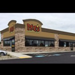 A new restaurant franchise, Moe's Southwest Grill, will be opening this month in front of the Walmart on Route 13.