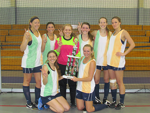 The NOVA Soccer Club, pictured above, last week won the women's adult division in the Ocean City Recreation and Parks Department's 27th Annual St. Patrick's Soccer Tournament. The tournament, held over the last four weeks, concluded last weekend with the championships in the men's and women's open divisions.  Submitted photo