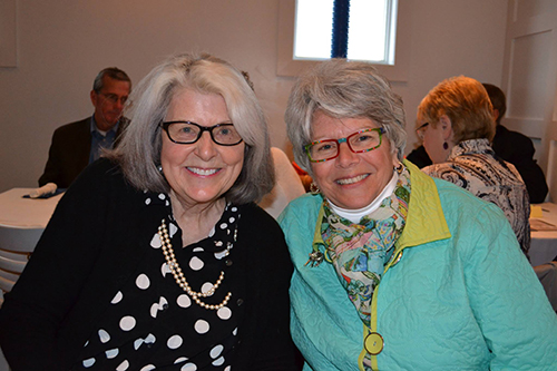 """Visionary. Creative. Tireless. Talented. Kindhearted. These are words that describe Merle Marsh,"" said Worcester Preparatory School Head of Lower School Celeste Bunting, right, in her nomination of Marsh for a ""Service To Worcester"" award earlier this year. File Photo"
