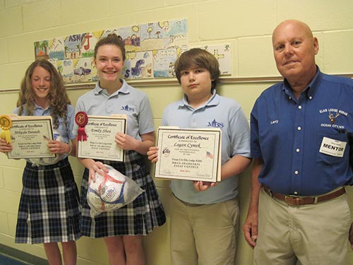 annual drug awareness poster and essay contest  annual drug awareness poster and essay contest winners awarded a plaque and soccer ball for their students g3 the annual drug awareness poster and essay