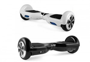 Two examples of hoverboards are pictured from the company Monorover. Photo courtesy of www.monorover.com