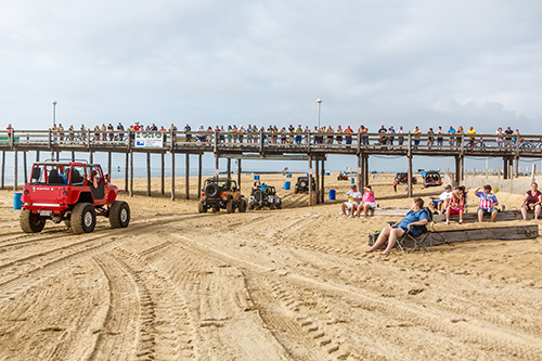 Morning beach crawls are planned in Ocean City all weekend starting at 30th Street and heading south toward the Inlet. Above is a photo from last year's event. Photo by Chris Parypa