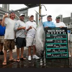 The tuna division was shook up on Friday with two leaderboard bigeyes brought to the scales, including a 200.5-pound beast, above, worth $399,209.