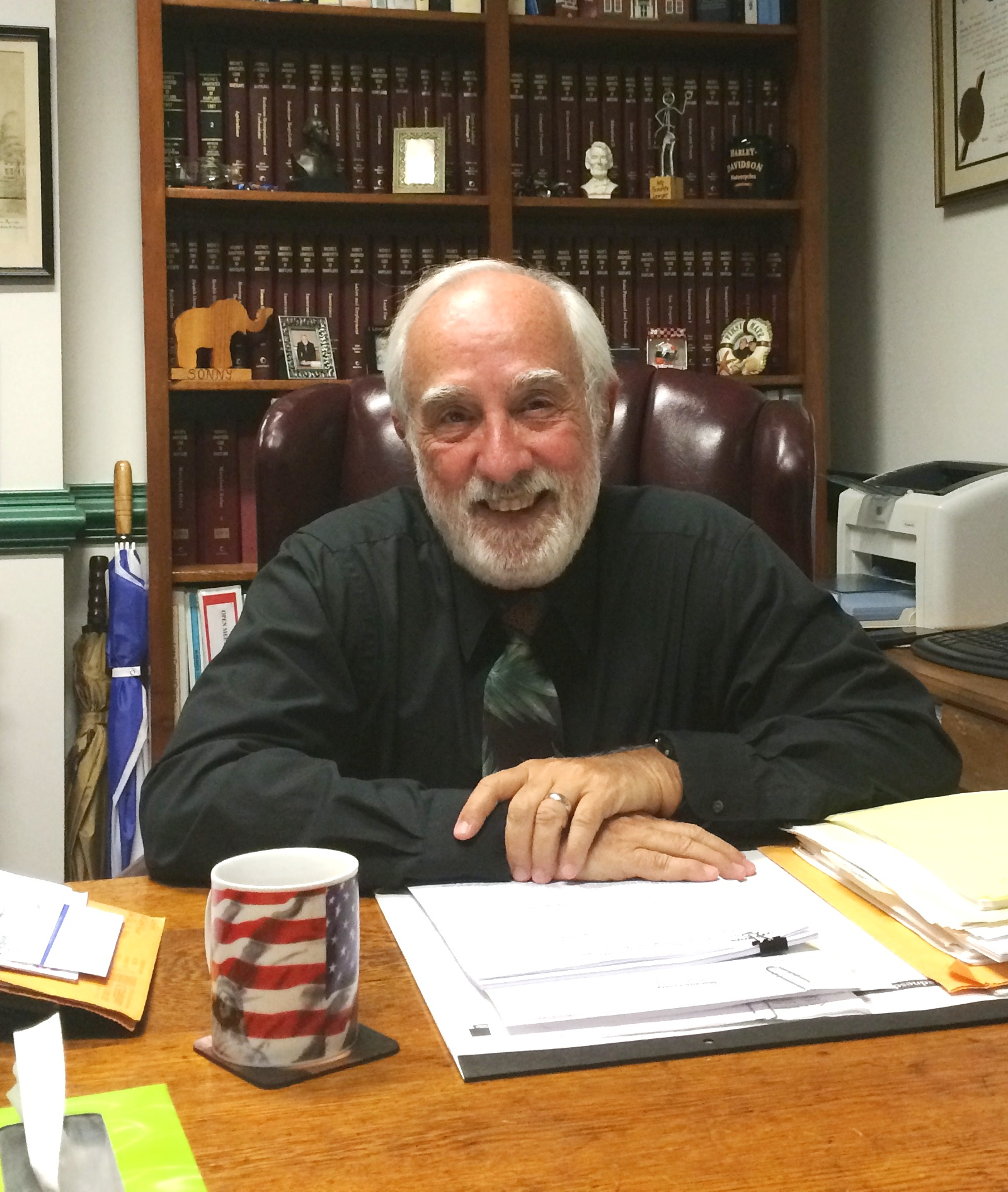 Bloxom has served as Worcester County's counsel for eight years. Photo by Charlene Sharpe