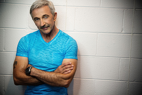 """I really believe patriotism and pride in this country are alive and well. I see it every day,"" said Aaron Tippin"