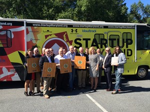 New Business Concepts Get Pitched Aboard Startup Bus
