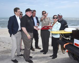 "Gov. Larry Hogan toured the beach at Assateague Island last week after announcing the Maryland Park Service will participate in the National Park Service's ""Every Kid In A Park"" program."