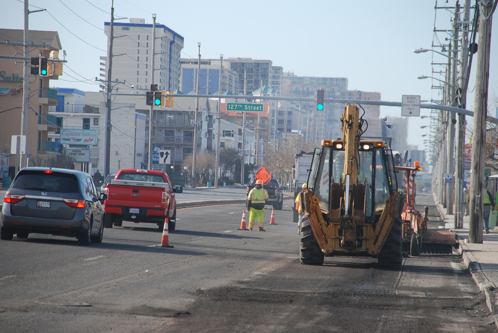 Coastal Highway Project Completed Early Despite Wet Spring Weather 1 Ocean City