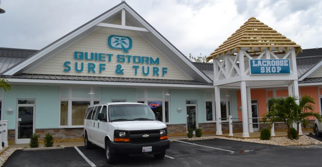 The new Quiet Storm Surf and Turf is located on 123rd Street near Northside Park. Photos by Charlene Sharpe