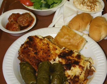 A sampling of some of the authentic Greek food on hand each day at the Ocean City Greek Festival is shown. File Photo