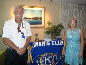 CRICKET Center Informs Kiwanis Club Of Greater Ocean Pines-Ocean City About The Non-Profit Organization