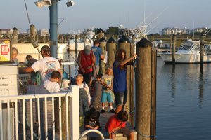 The Ocean City Fishing Center on Sunday will hosts its 15th Annual 9/11 Spot Tournament, commemorating the September 11, 2001 terror attacks. Pictured above is a scene from last year's event.   Photo by Shawn Soper