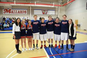 Worcester Prep's Winter Sports Teams Celebrate Senior Night