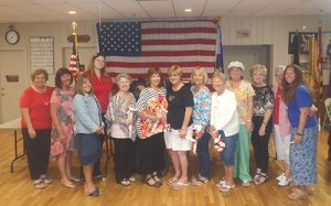 American Legion Auxiliary Unit 166 Installs New Officers And Presents Junior Awards