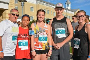 Parkside High School Criminal Justice Instructor And Several Students Compete In 5KRun/Walk