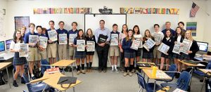 Dispatch Publisher And Editor Steve Green Visits Worcester Prep's Middle And Upper School