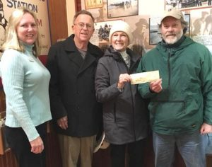 Ocean City Lions Club Presents Check To Ocean City Museum Society To Support Storm Warriors 5K