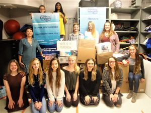 SD Middle School Builders Club Collects Money, Food And Supplies For Believe In Tomorrow