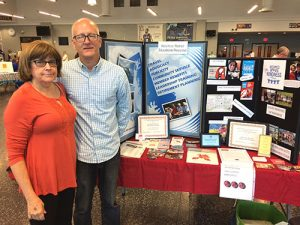 Wicomico Retired Education Personnel Members Man Information Booth At Wicomico County Board Of Ed Health Fair