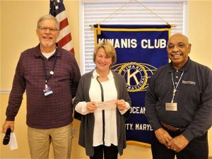 Kiwanis Club Of Greater Ocean Pines-Ocean City Supports Worcester County G.O.L.D.