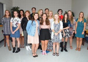 SD High School Inducts New National English Honor Society Members