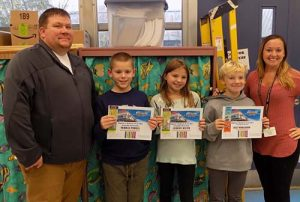 Fourth Grade Students From Berlin Intermediate School Honored By Ripley's Believe It Or Not General Manager