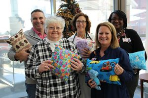 Judy Young Continues 20 Year Christmas Tradition At PRMC