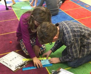 OC Elementary Second Graders Work On Measuring