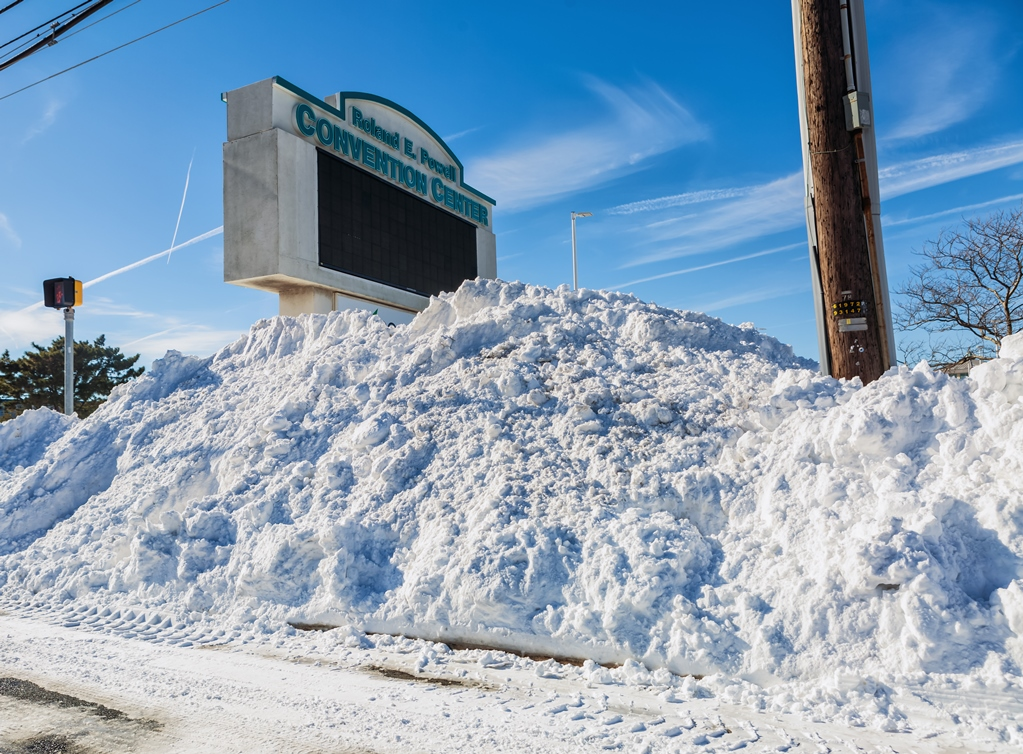 Ocean City Makes Bus Lane Change Due To Snow Piles