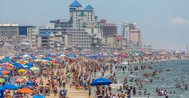 Ocean City's Topless Ordinance Challenged In Federal Court