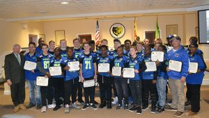 National Champion Berlin Seahawks Feted At City Hall